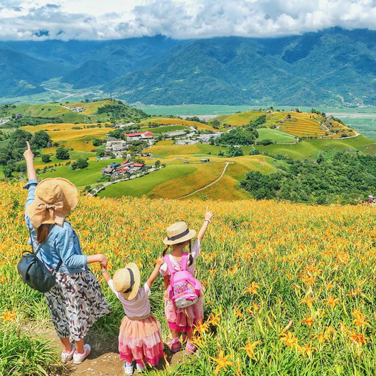 Chiêm ngưỡng xứ sở hoa kim châm đẹp như tranh vẽ ở Đài Loan - Ảnh 11.
