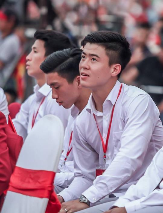 Những hình ảnh siêu cute của tuyển thủ Olympic Việt Nam - Ảnh 7.