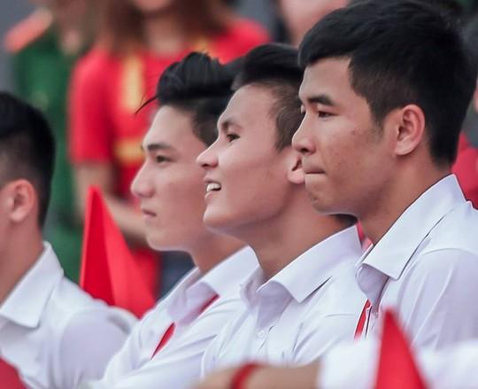 Những hình ảnh siêu cute của tuyển thủ Olympic Việt Nam - Ảnh 6.