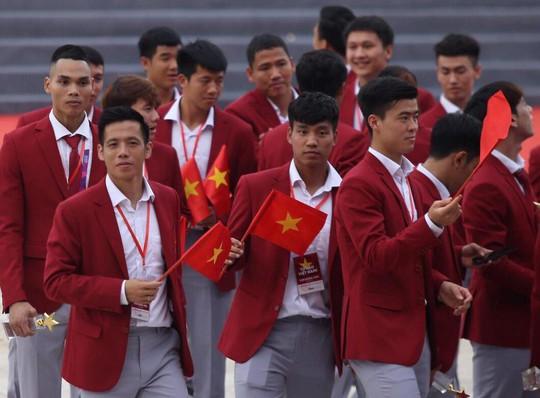 Những hình ảnh siêu cute của tuyển thủ Olympic Việt Nam - Ảnh 1.