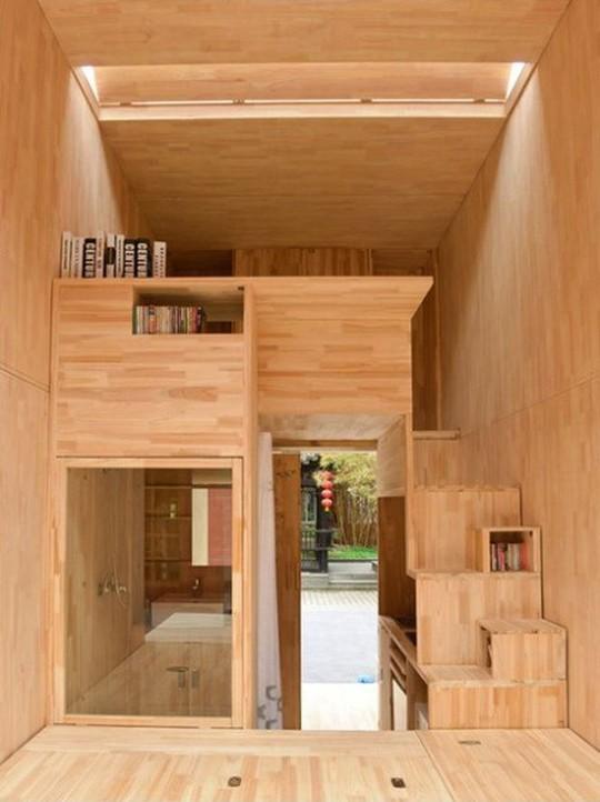 Độc đáo căn nhà gỗ 7m2 có thể chuyển đi khắp nơi - Ảnh 1.