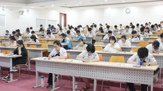 Đại học tổ chức thi riêng liệu có tiêu cực? - Ảnh 1.