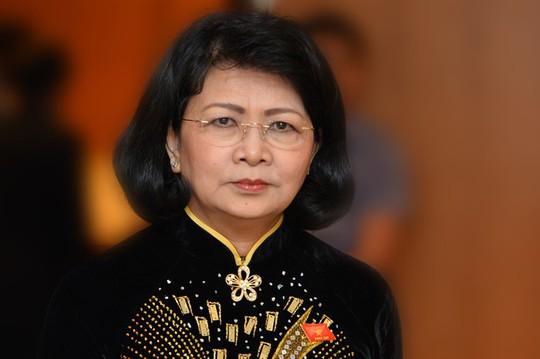 Bà Đặng Thị Ngọc Thịnh thực hiện quyền Chủ tịch nước - Ảnh 1.