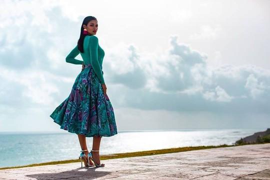Cận cảnh vẻ đẹp tân Hoa hậu Hoàn vũ Puerto Rico - Ảnh 12.