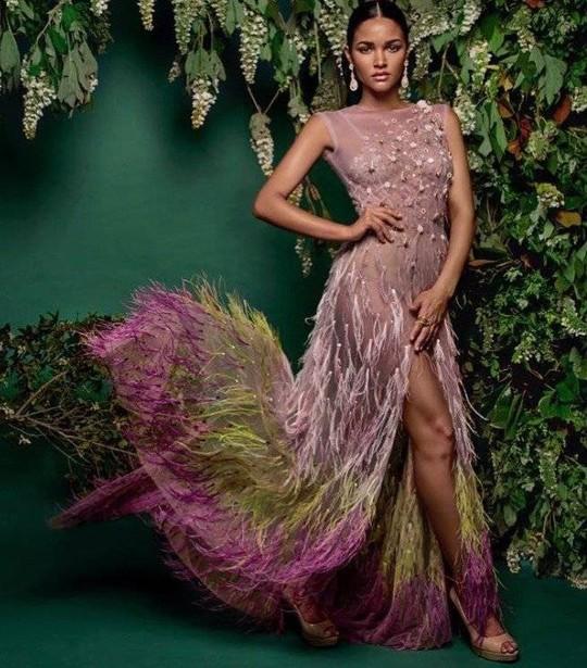 Cận cảnh vẻ đẹp tân Hoa hậu Hoàn vũ Puerto Rico - Ảnh 7.