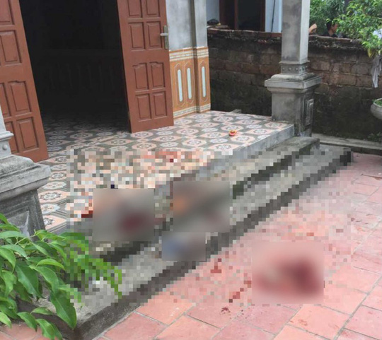 Thảm sát kinh hoàng, 3 người trong gia đình tử vong - Ảnh 1.