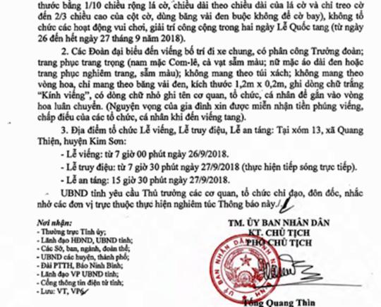 Gia đình Chủ tịch nước Trần Đại Quang nguyện vọng xin được miễn nhận tiền phúng viếng - Ảnh 1.