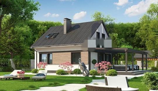 Mãn nhãn 10 mẫu nhà cấp 4 với sân vườn xanh mát - Ảnh 2.
