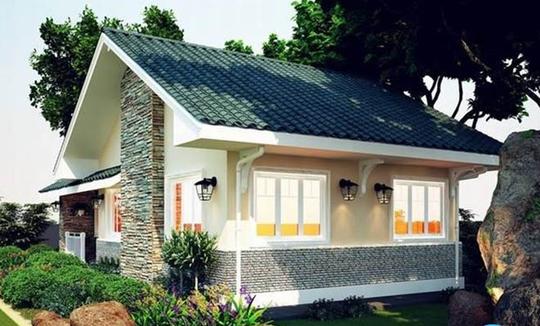 Mãn nhãn 10 mẫu nhà cấp 4 với sân vườn xanh mát - Ảnh 9.