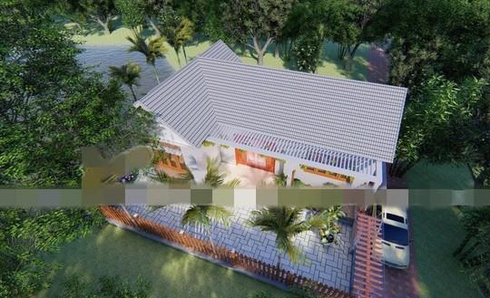 Mãn nhãn 10 mẫu nhà cấp 4 với sân vườn xanh mát - Ảnh 1.