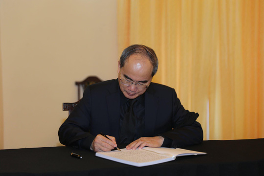 Lễ viếng Chủ tịch nước Trần Đại Quang tại TP HCM - Ảnh 5.