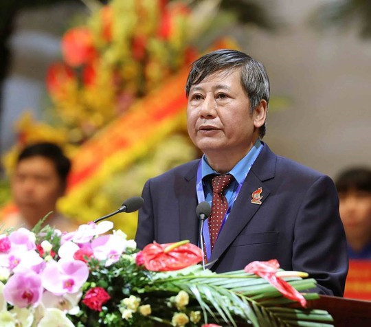 Ông Bùi Văn Cường tái đắc cử Chủ tịch Tổng LĐLĐ Việt Nam khóa XII - Ảnh 5.