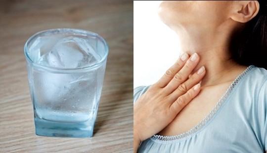Tác hại khôn lường từ việc uống nước đá - Ảnh 1.