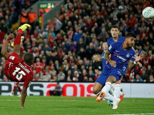 Hazard toả sáng, Chelsea ngược dòng loại Liverpool tại League Cup - Ảnh 4.