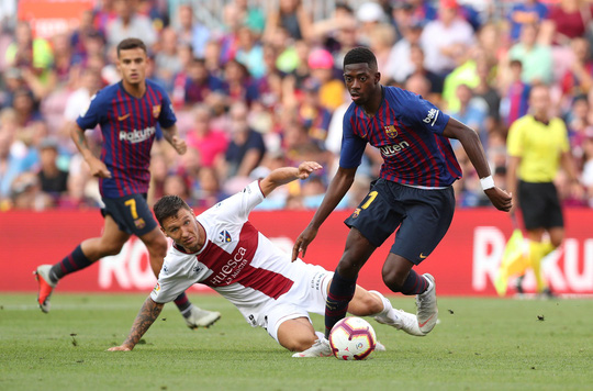 Messi, Suarez tranh đá phạt đền, Barcelona xé nát lưới Huesca - Ảnh 6.