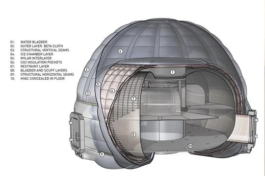 Cận cảnh ngôi nhà Sao Hỏa của NASA - Ảnh 4.