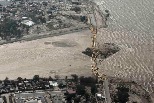 Thảm họa động đất - sóng thần ở Indonesia: Ít nhất 420 người thiệt mạng - Ảnh 3.