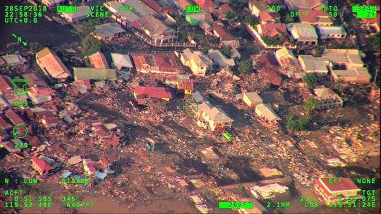 Thảm họa động đất - sóng thần ở Indonesia: Ít nhất 420 người thiệt mạng - Ảnh 4.
