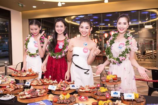Ứng viên Hoa hậu Việt Nam 2018 chạy nước rút cho chặng đua cuối - Ảnh 3.