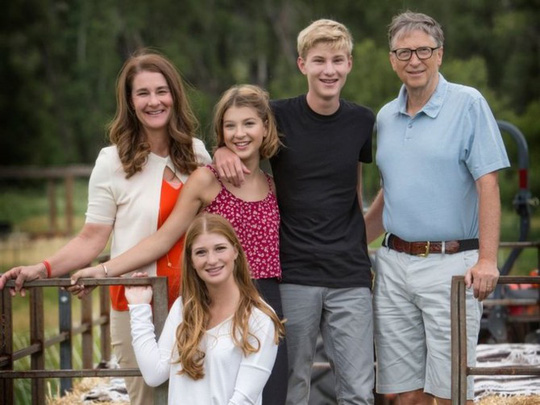 Cuộc sống cho đi và tận hưởng của Bill Gates - Ảnh 16.