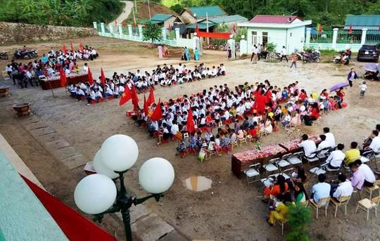 Hình ảnh khai giảng năm học mới tại vùng tâm lũ Mường Lát - Ảnh 6.