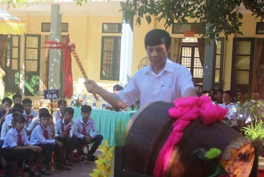Hình ảnh khai giảng năm học mới tại vùng tâm lũ Mường Lát - Ảnh 9.