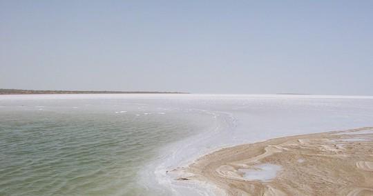 Hình ảnh siêu thực ở sa mạc muối khổng lồ của Ấn Độ - Ảnh 5.