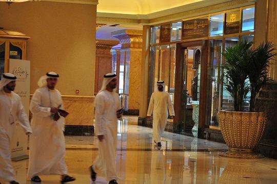 Chiêm ngưỡng khách sạn dát vàng 7 sao siêu xa xỉ ở UAE - Ảnh 5.