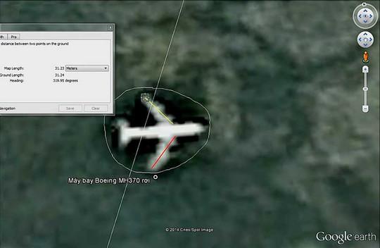 Làm rõ tài liệu Một công dân Gia Lai khẳng định phát hiện địa điểm máy bay MH370 - Ảnh 1.