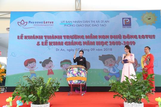 Khánh thành trường mầm non chuẩn quốc tế nhận trẻ từ 19 tháng tuổi - Ảnh 3.