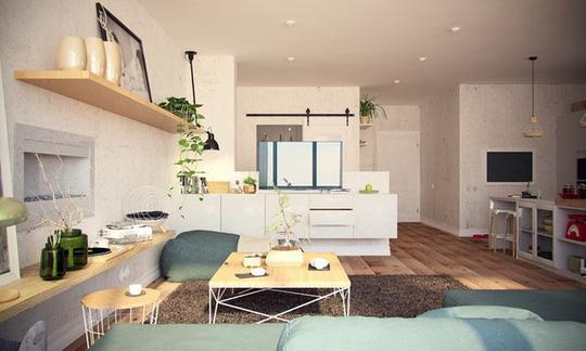 Căn hộ 100 m2 mang phong cách Bắc Âu - Ảnh 1.