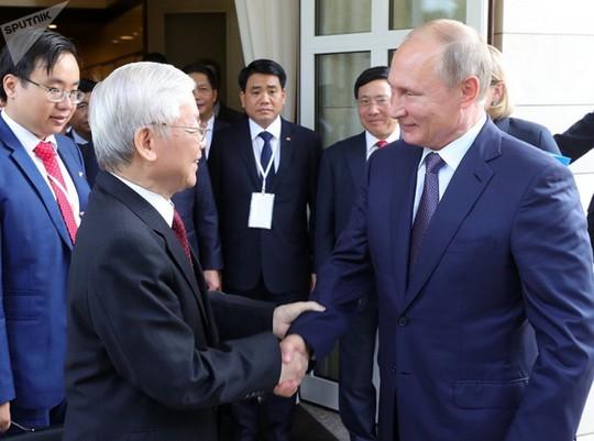 Tổng Bí thư Nguyễn Phú Trọng gửi Điện cảm ơn Tổng thống Vladimir Putin - Ảnh 1.