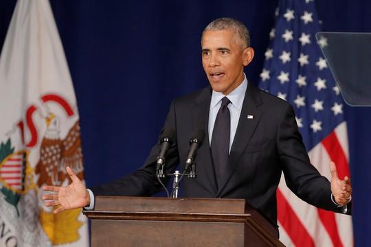 Ông Obama tái xuất - Ảnh 1.