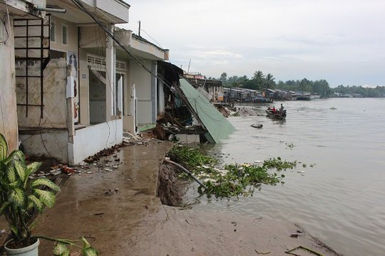 Cần Thơ: Cần 2.441 tỉ đồng xây kè bảo vệ bờ sông, kênh rạch - Ảnh 1.