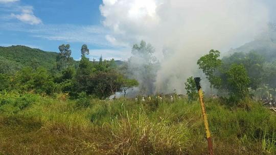 Kịp thời dập tắt đám cháy rộng 1.000 m2 tại bán đảo Sơn Trà - Ảnh 2.