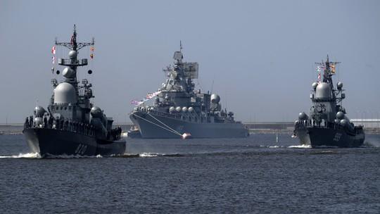 Lính thủy Nga đổ bộ bờ biển Syria trong cuộc tập trận chưa từng thấy - Ảnh 2.