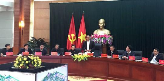 Nguồn xã hội hóa xây dựng Nhà tưởng niệm lãnh tụ Nguyễn Đức Cảnh - Ảnh 1.