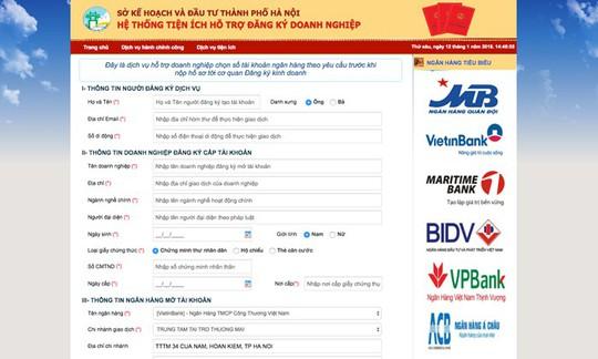 MB ký kết hợp tác với sở Kế hoạch - Đầu tư Hà Nội mở tài khoản online cho doanh nghiệp - Ảnh 1.