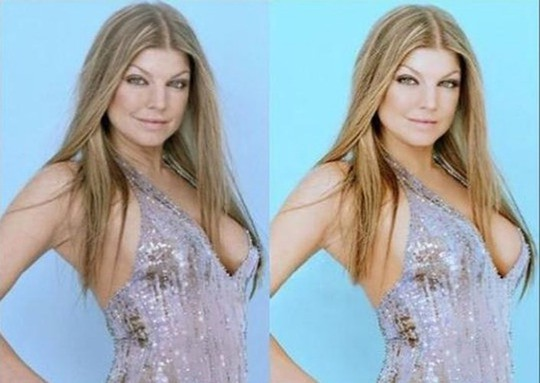 Trước và sau photoshop của dàn mỹ nhân Hollywood - Ảnh 5.