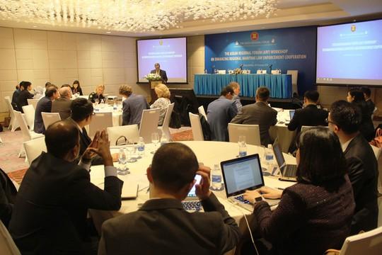 ASEAN giải quyết các vấn đề trên biển - Ảnh 1.