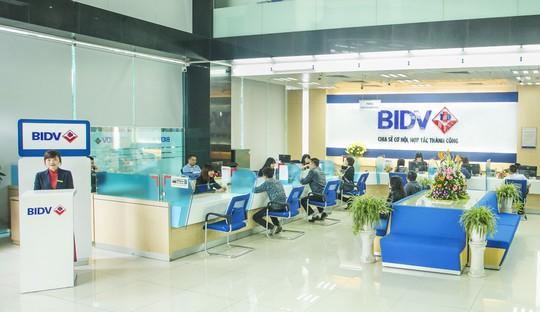 """""""Ông lớn"""" BIDV cán mốc lợi nhuận 8.800 tỉ đồng - Ảnh 1."""
