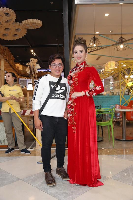 Sao Việt tụ hội chúc mừng cha con Quý Bình - Ảnh 10.