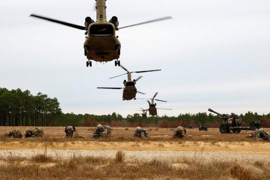 Mỹ vây Triều Tiên - Ảnh 1.