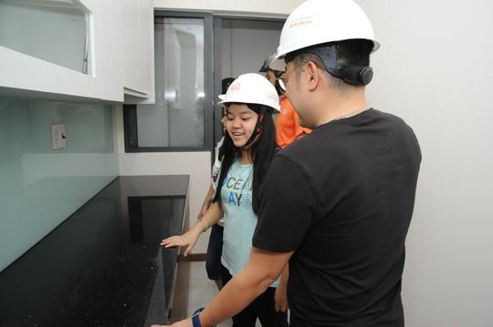 Cận cảnh căn hộ hoàn thiện tại dự án Him Lam Phú An - Ảnh 4.