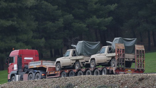 Bộ binh Thổ Nhĩ Kỳ tiến vào Syria, 22 người thương vong - Ảnh 1.