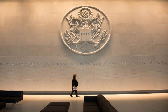 Mục sở thị đại sứ quán tỉ đô của Mỹ vừa mở cửa tại London - Ảnh 2.