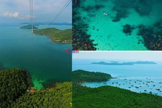 Sững sờ trước sắc xanh kỳ diệu của biển trời Phú Quốc - Ảnh 2.