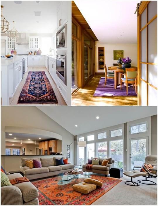 Lựa chọn thảm phù hợp trang trí nhà - Ảnh 8.