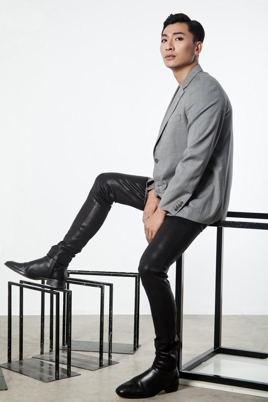 Siêu mẫu Trần Trung cực ngầu trong loạt ảnh thời trang mới - Ảnh 1.