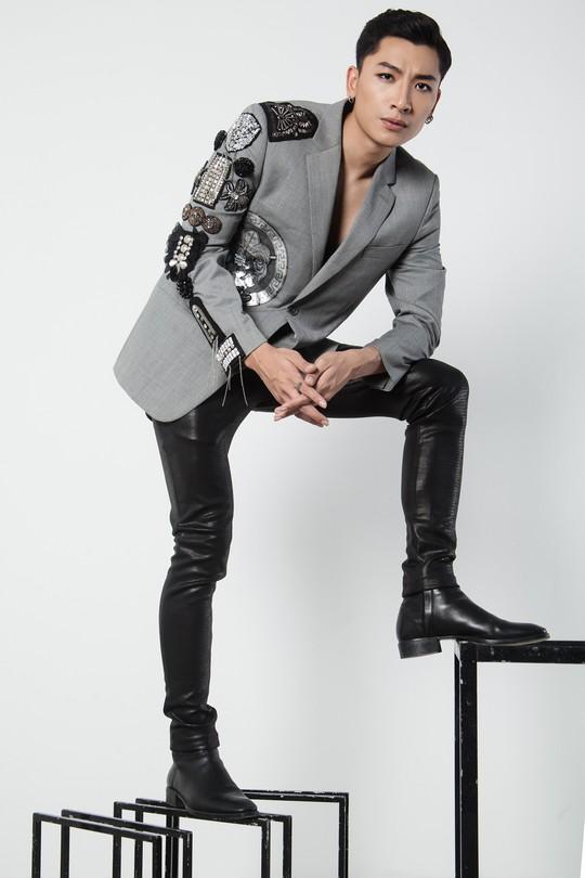 Siêu mẫu Trần Trung cực ngầu trong loạt ảnh thời trang mới - Ảnh 4.